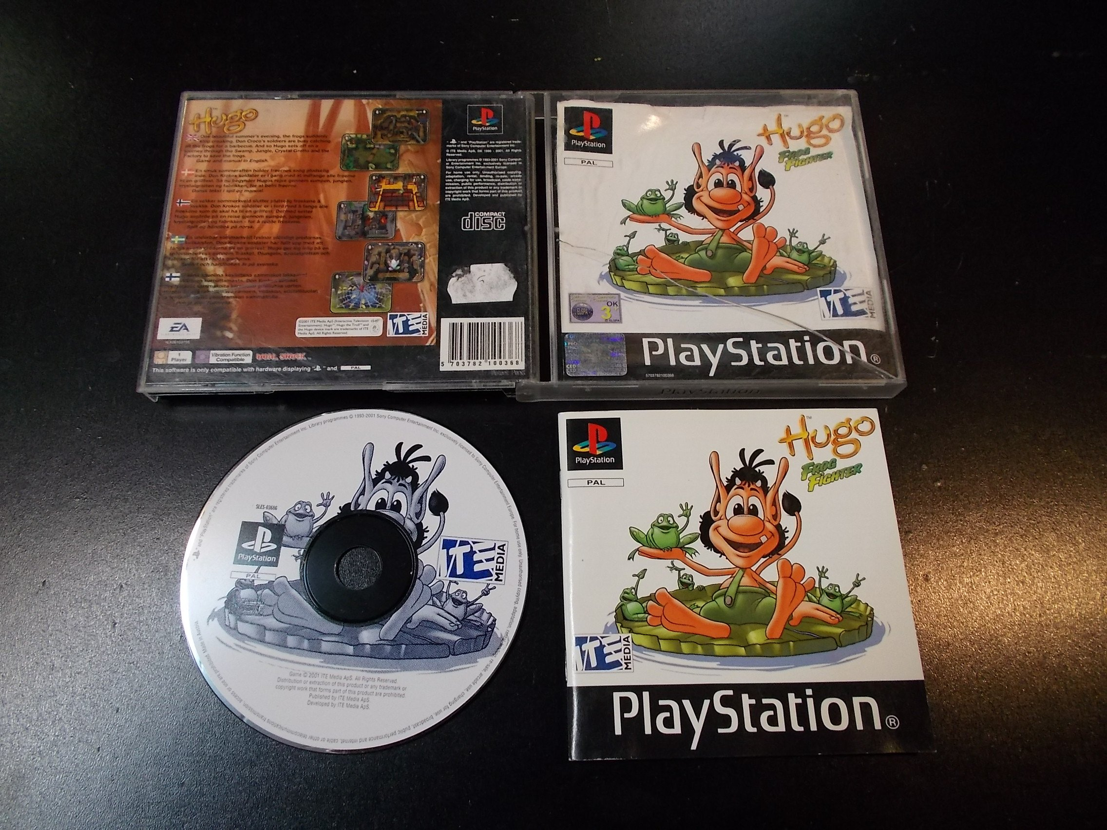 Hugo Frog Fighter - GRA Psx Ps1 Sklep