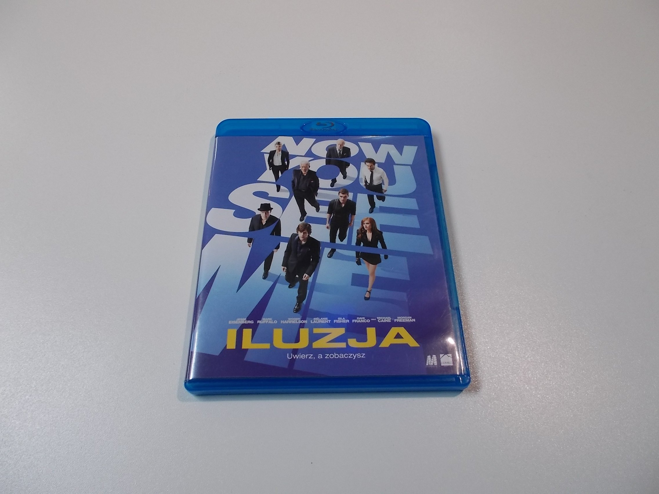 ILUZJA - NOW YOU SEE ME - Blu-ray - Sklep