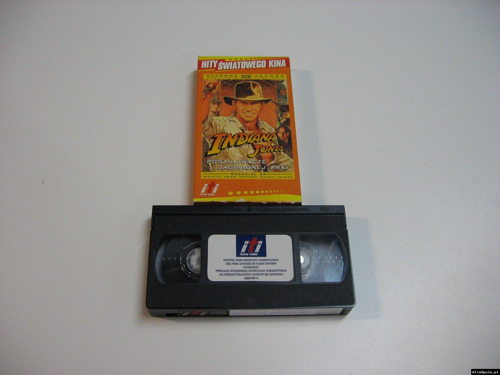 INDIANA JONES PISZUKIWACZE ZAGINIONEJ ARKI - VHS Kaseta Video - Opole 1794