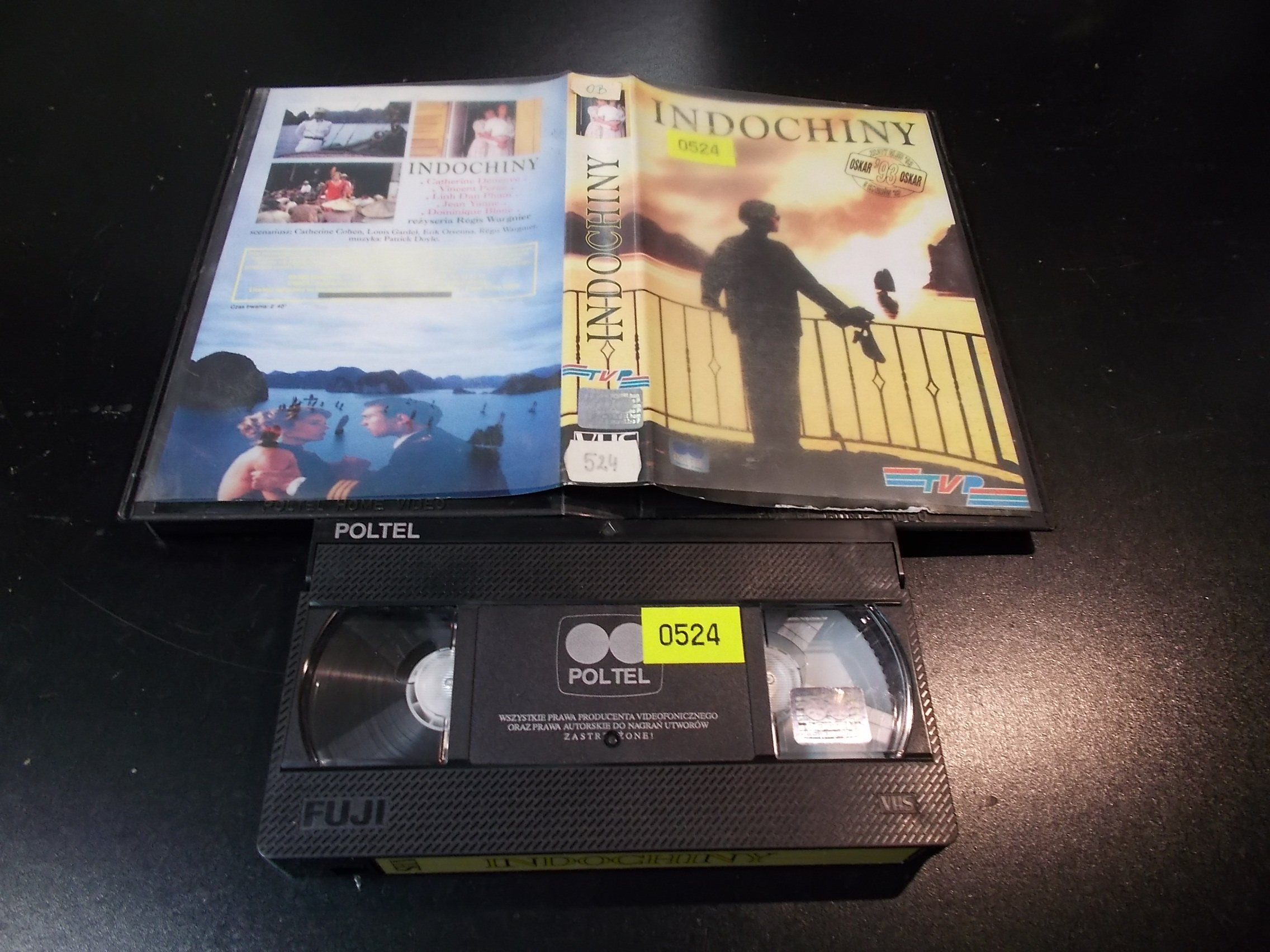 INDOCHINY - kaseta Video VHS - 1402 Sklep