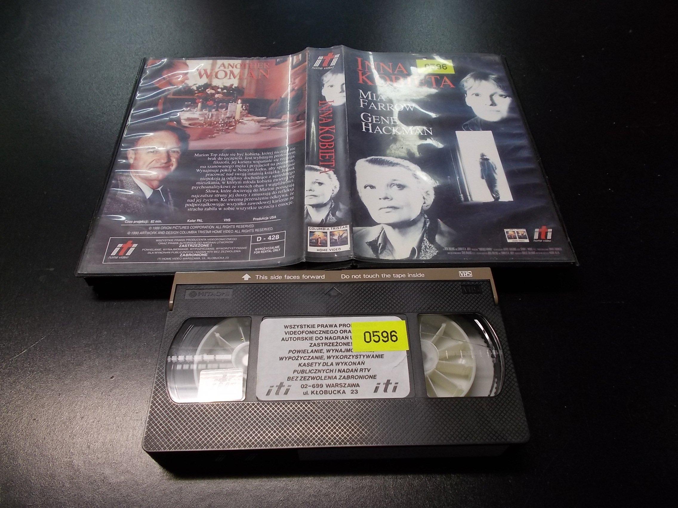 INNA KOBIETA -  kaseta VHS - 1218 Opole - AlleOpole.pl