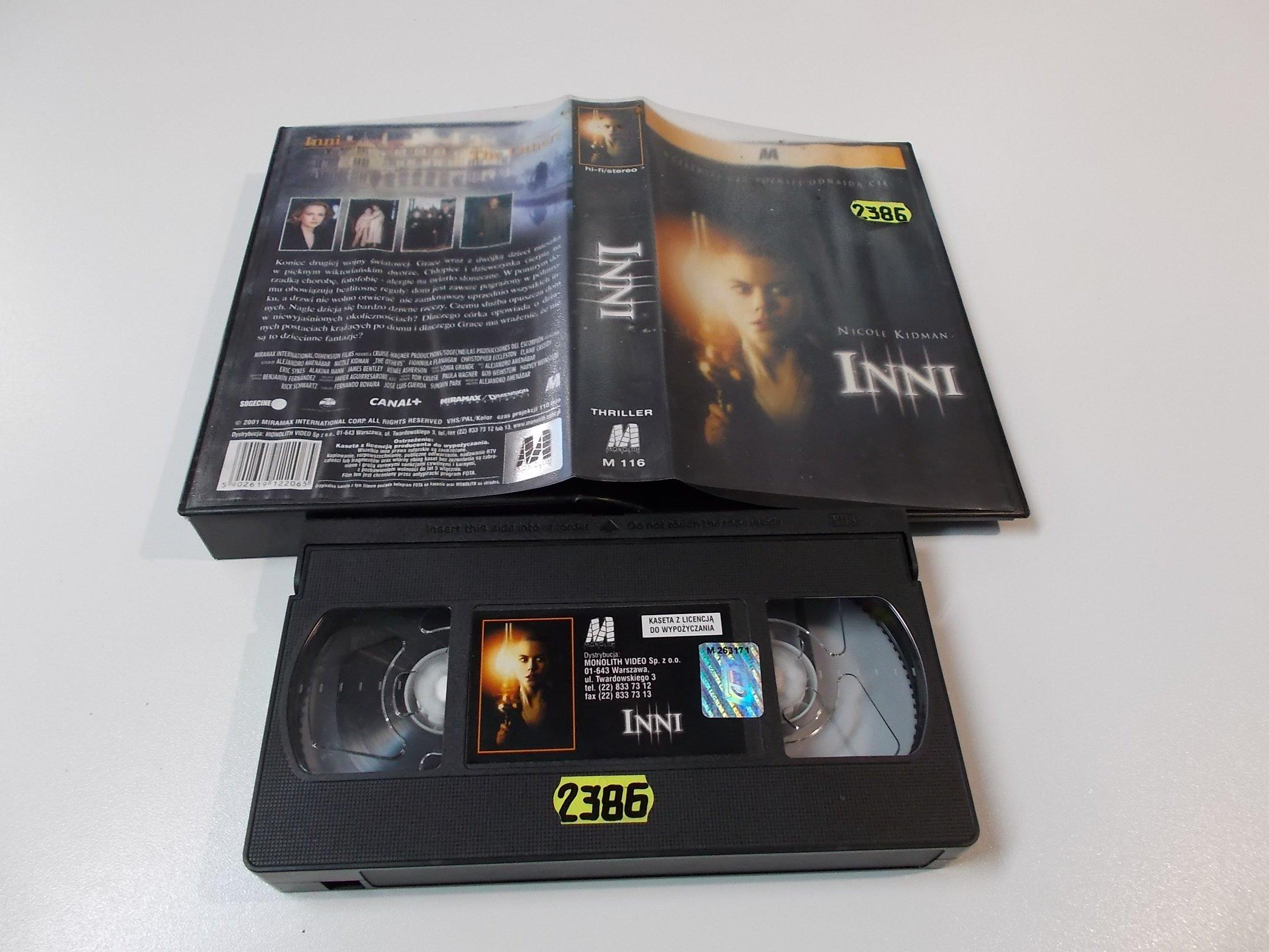INNI - NICOLE KIDMAN - Kaseta Video VHS - Opole 1520