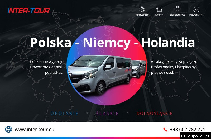 INTER-TOUR BUSY DO NIEMIEC  / BUSY DO HOLANDII – JUŻ OD 55 EURO!!!