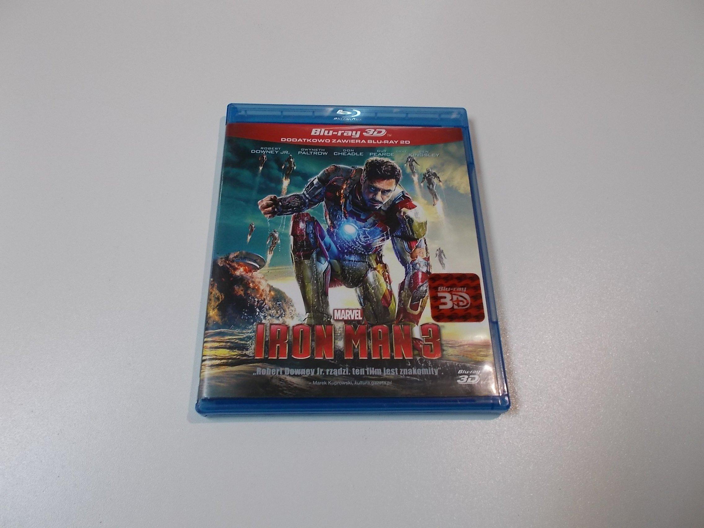 IRON MAN 3 MARVEL - Blu-ray 3D - Sklep