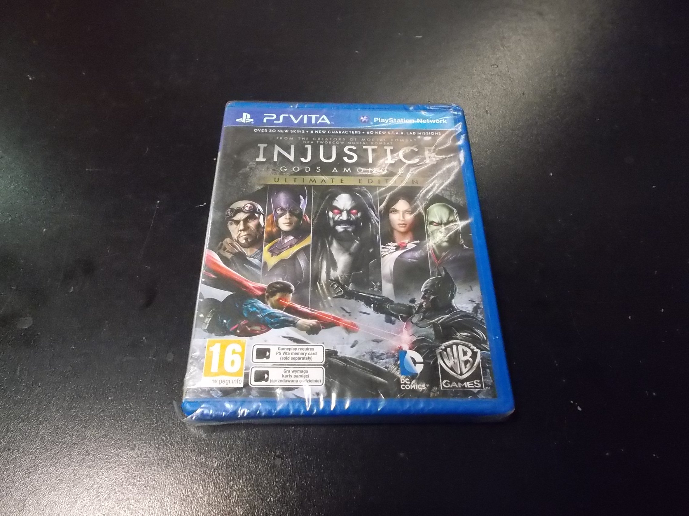 Injustice Gods Among - GRA PS Vita Sklep