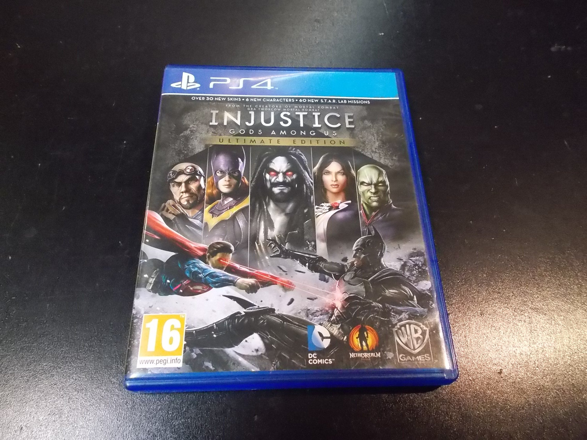 Injustice: Gods Among Us Ultimate Edition - GRA Ps4 Sklep