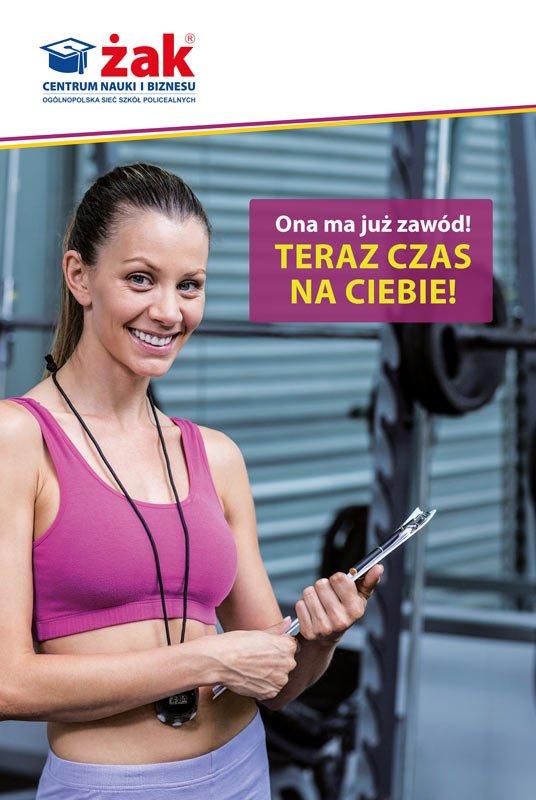 Instruktor fitness- jeszcze możesz zapisać się do ŻAKA!!!