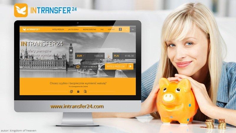 Internetowa wymiana walut w Intransfer24.com!