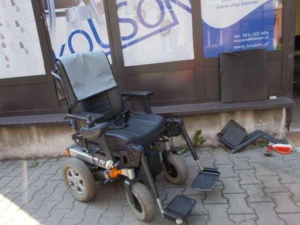 Invacare Storm-wózek elektryczny dla akrywnych