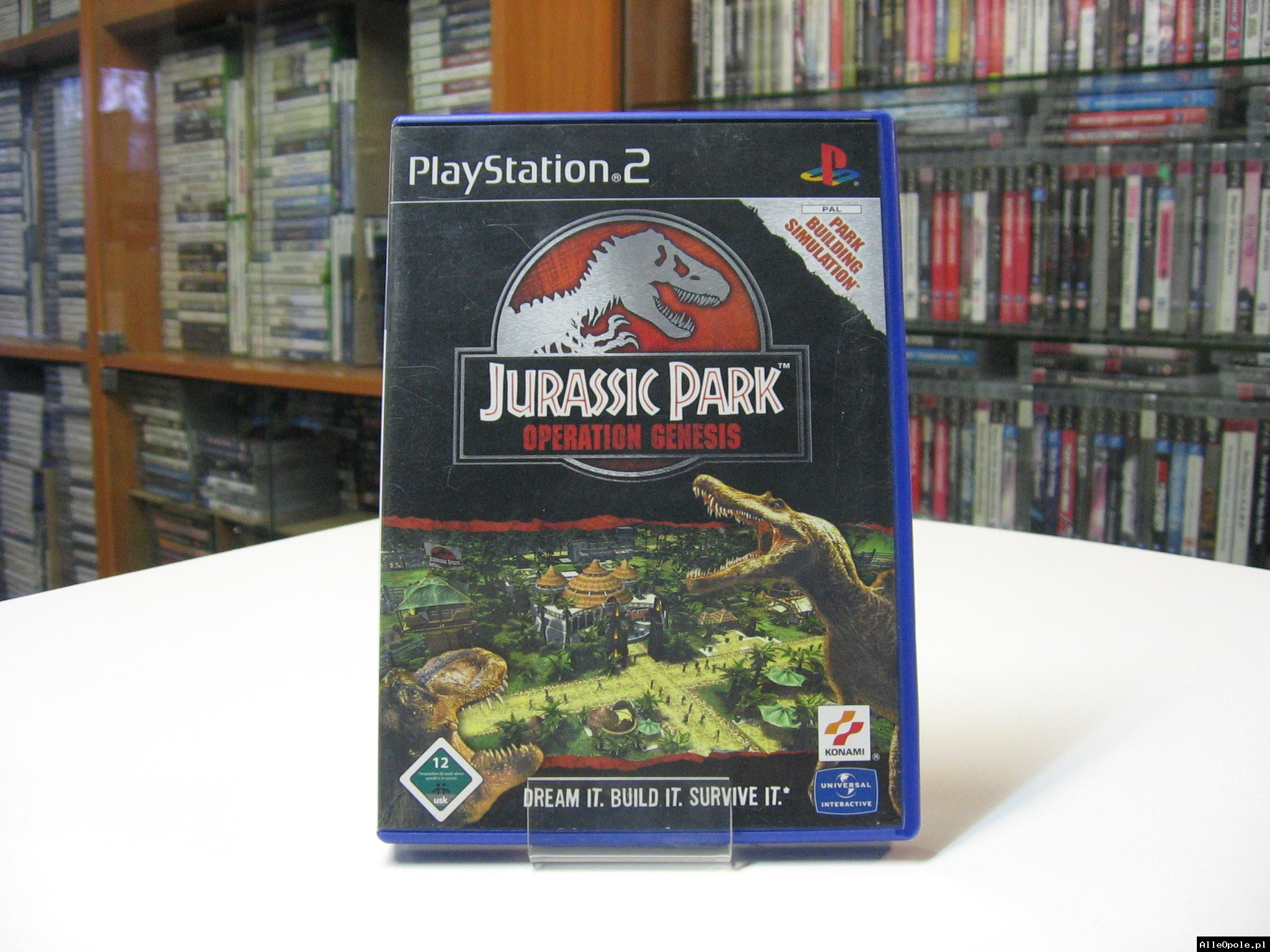 JURASSIC PARK OPERATION GENESIS - GRA Ps2 - Opole 0565