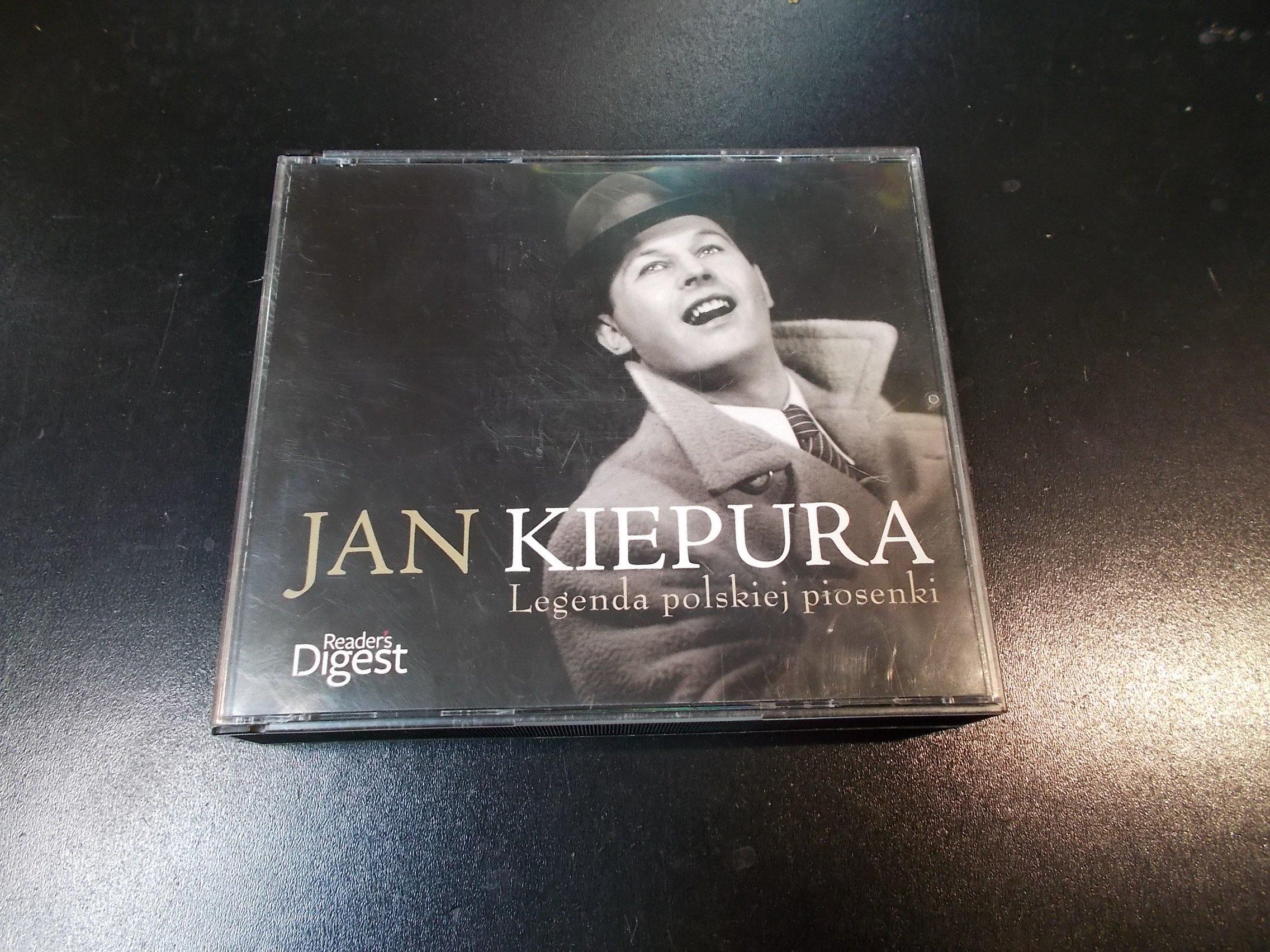 Jan Kiepura Legenda polskiej piosenki 3 cd - CD - Sklep