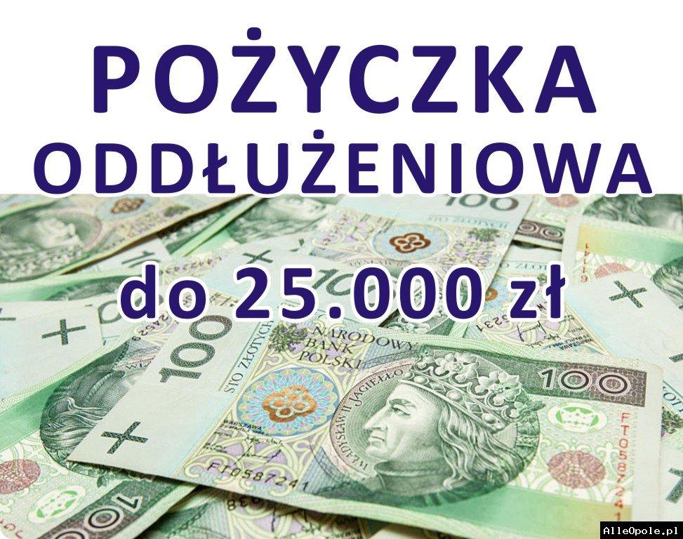Jesteś zadłużona/y? Pożycz do 25.000 zł!