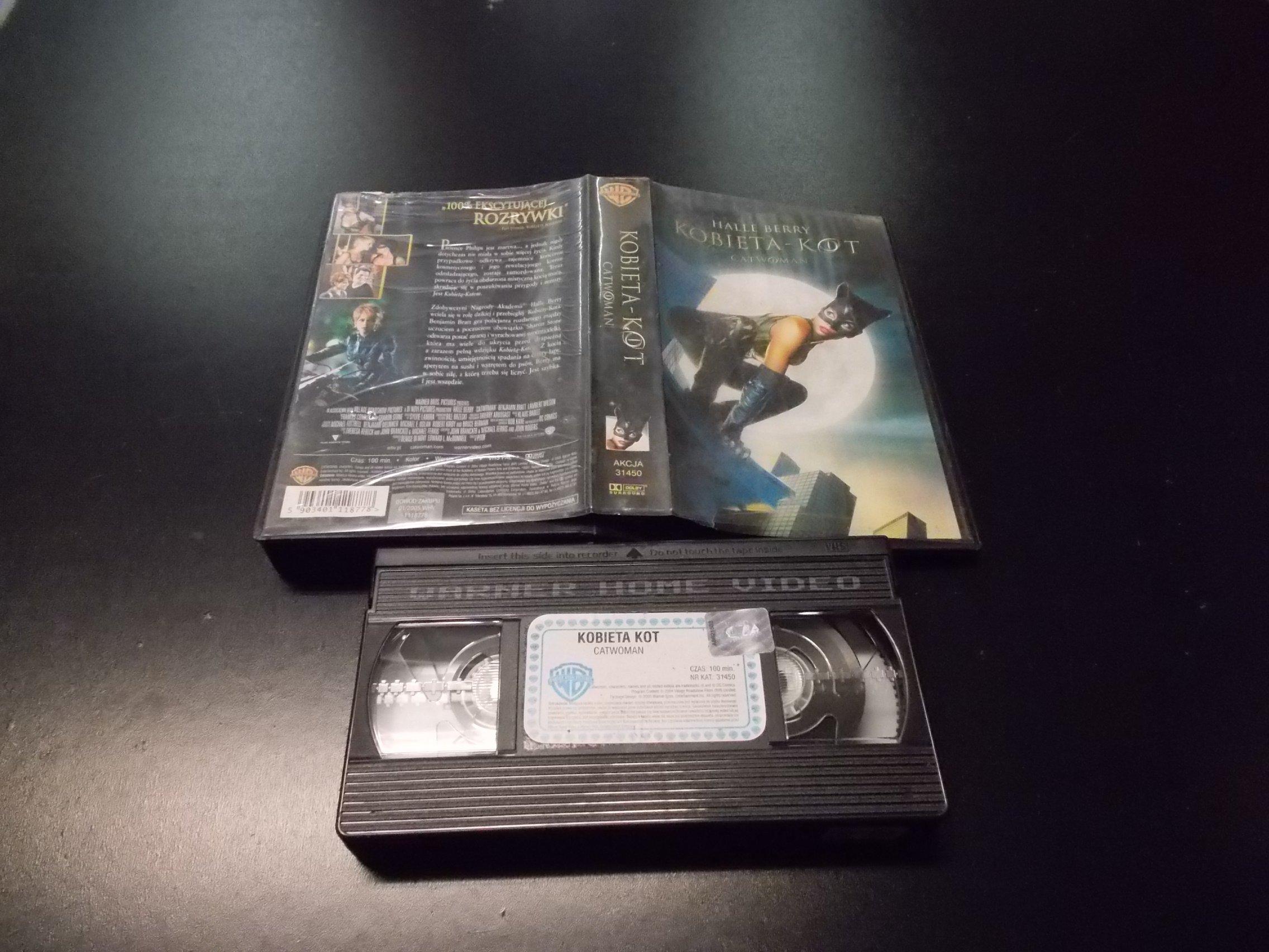 KOBIETA KOT -  kaseta VHS - 1149 Opole - AlleOpole.pl