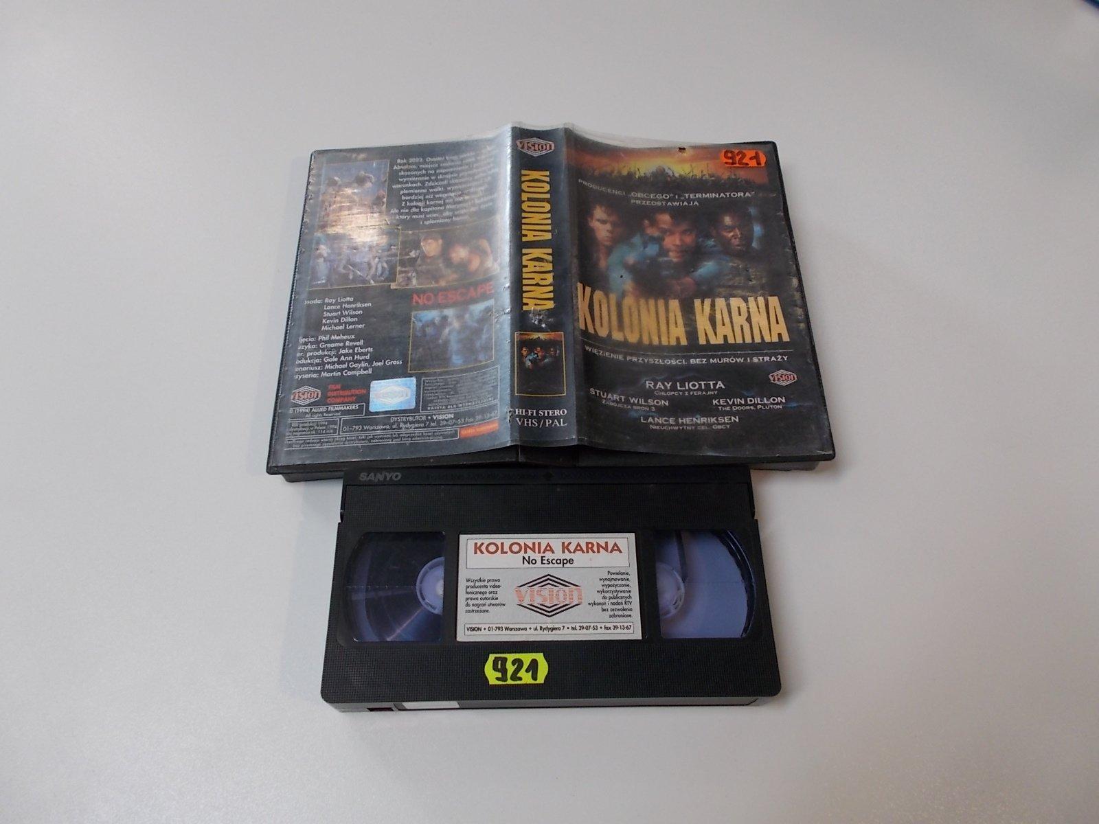 KOLONIA KARNA - VHS Kaseta Video - Opole 1663