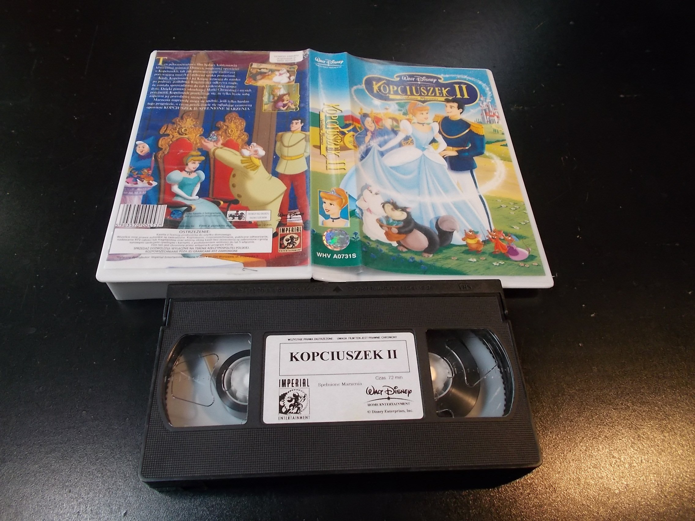 KOPCIUSZEK 2 - kaseta Video VHS - 1347 Sklep