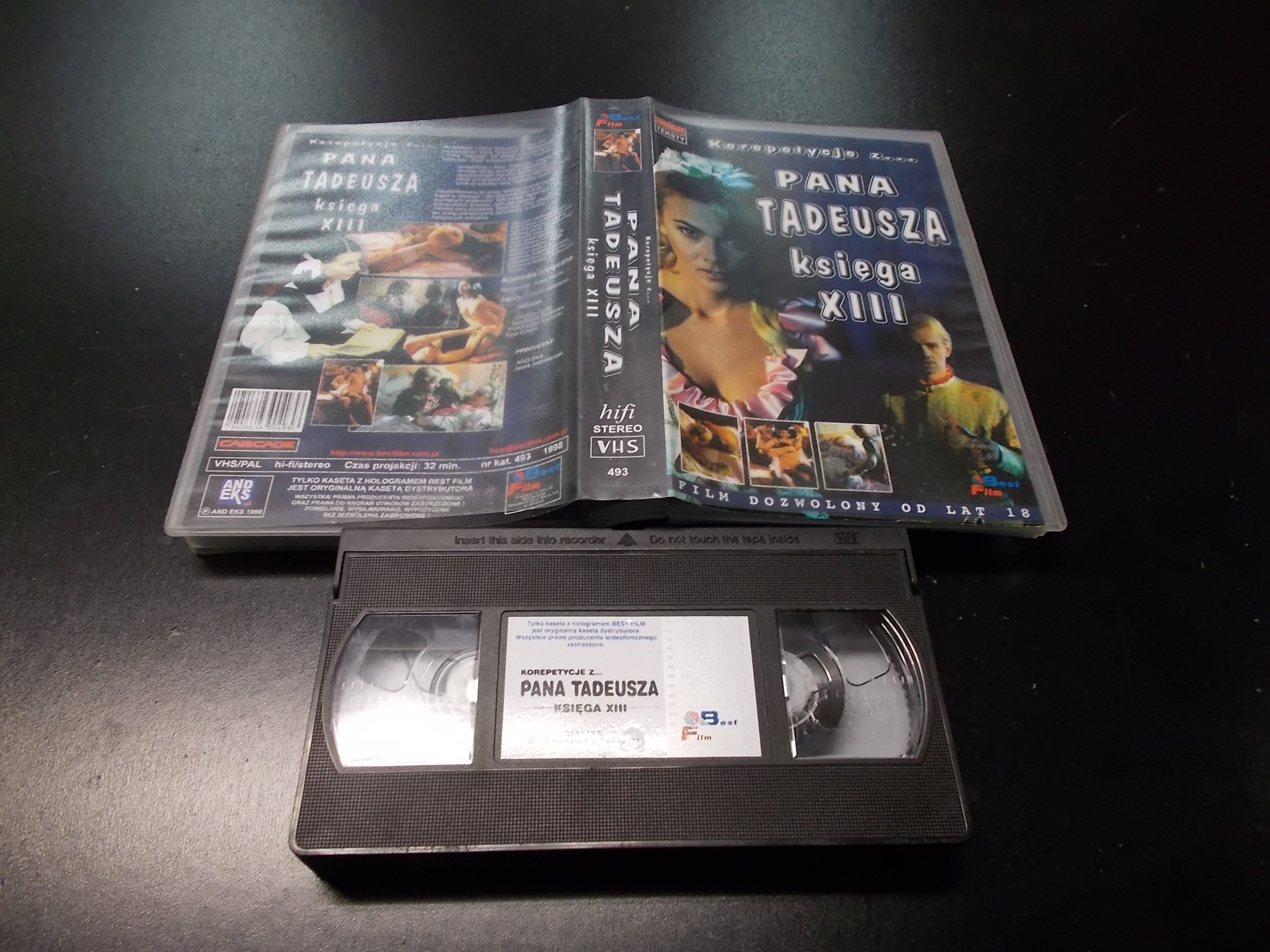 KOREPETYCJE Z... PANA TADEUSZA KSIĘGA 13 -  kaseta VHS - 1206 Opole - AlleOpole.pl