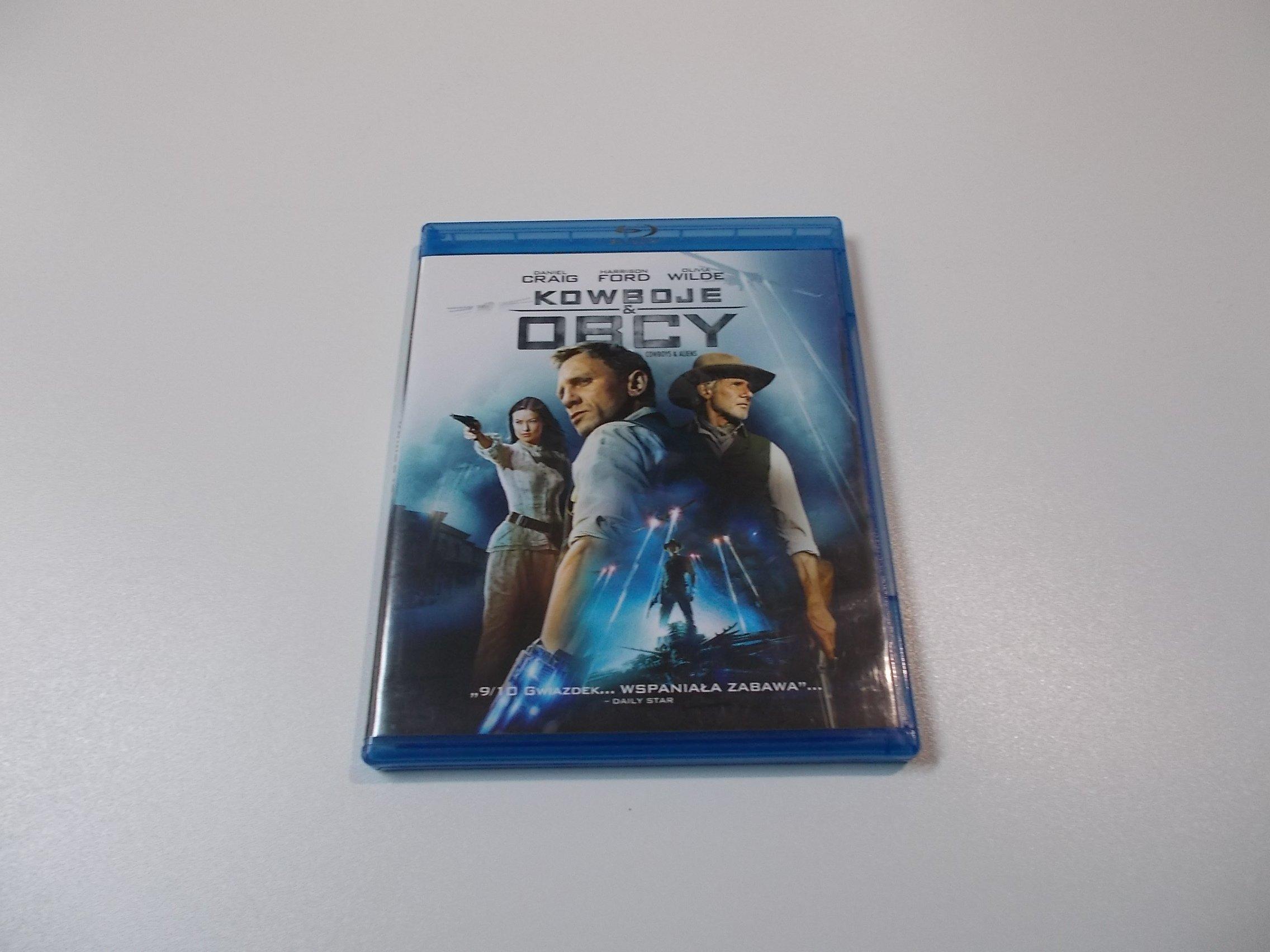 KOWBOJE I OBCY - Blu-ray - Sklep