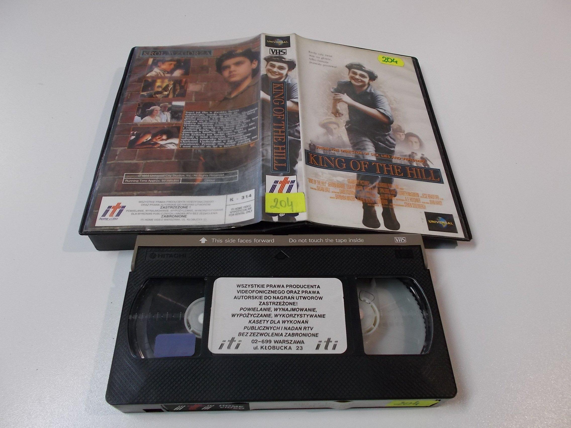 KRÓL WZGÓRZA - Kaseta Video VHS - Opole 1537