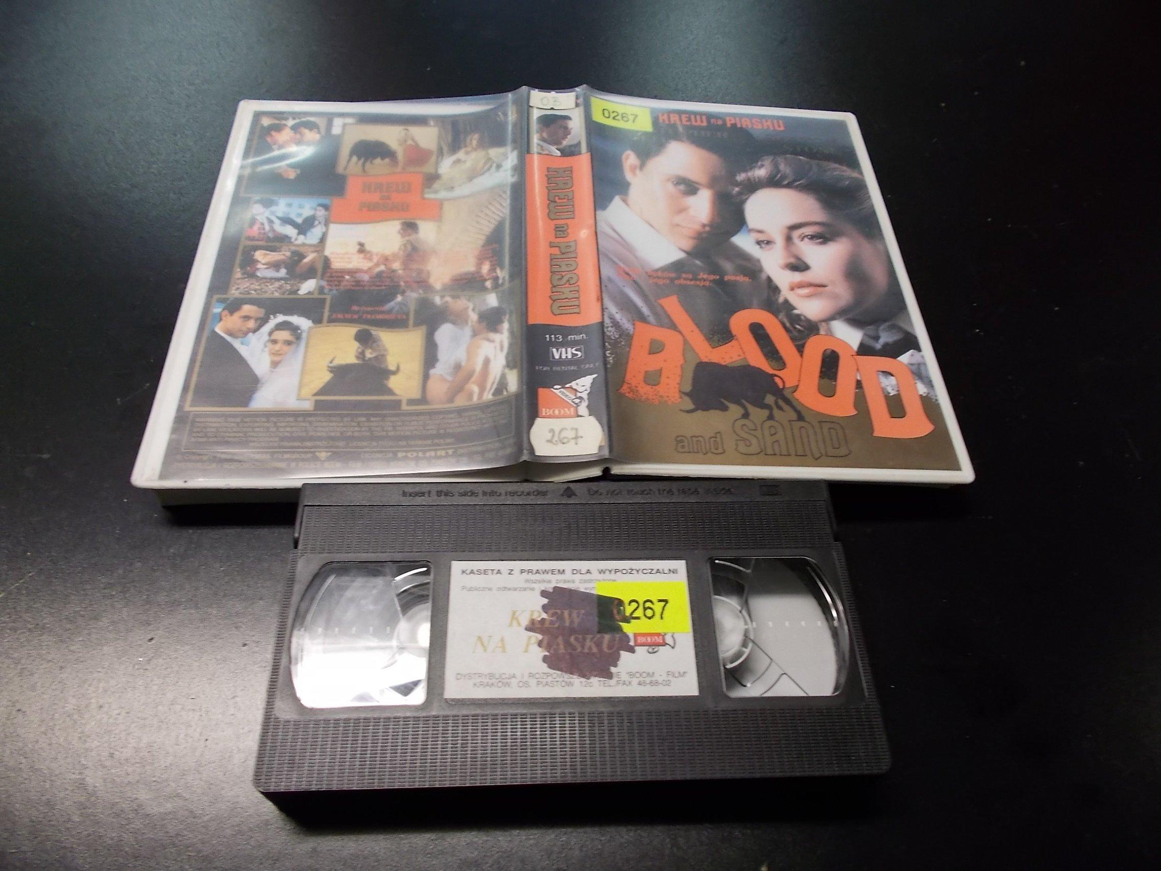 KREW NA PIASKU -  kaseta VHS - 1224 Opole - AlleOpole.pl