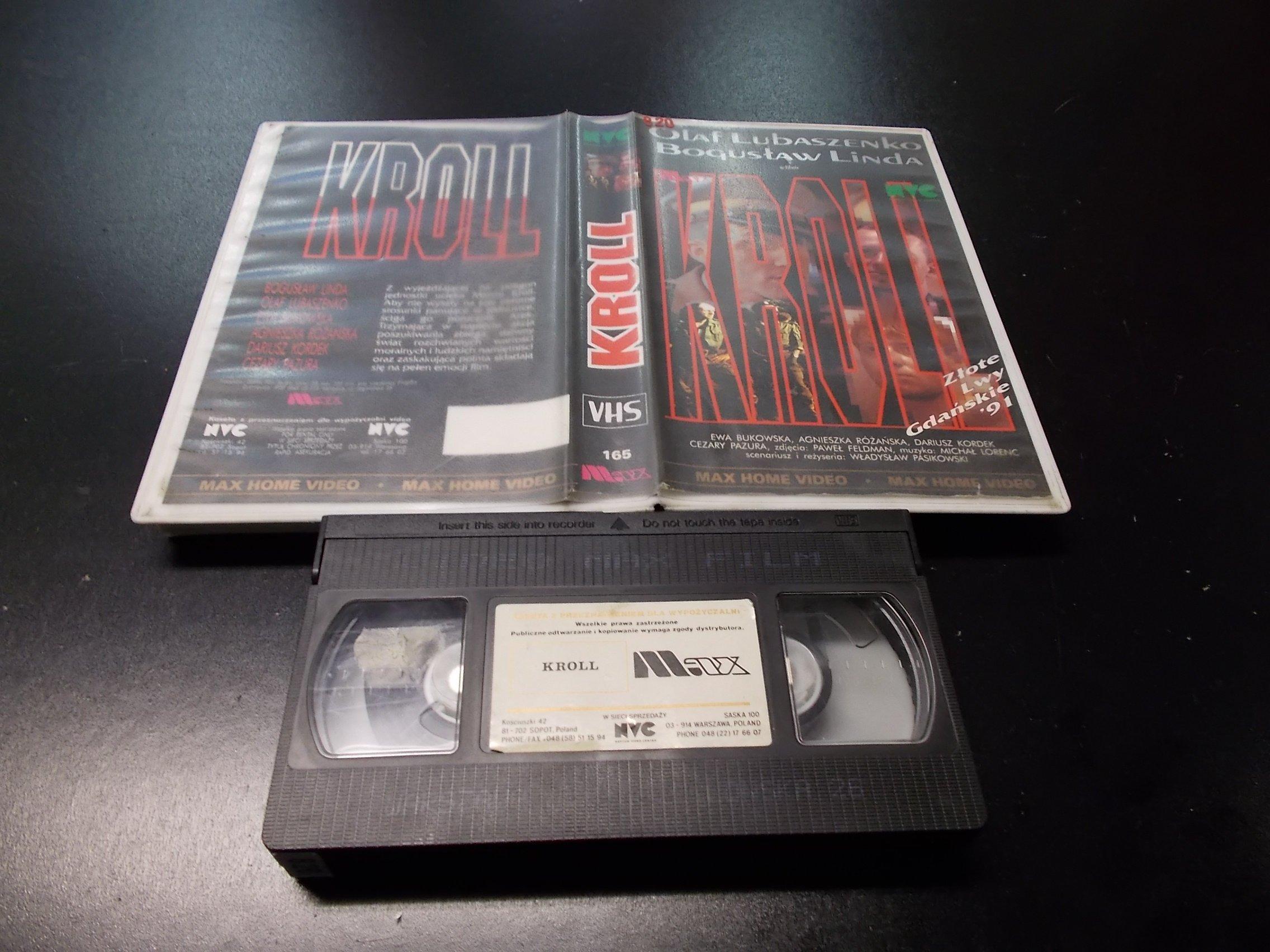 KROLL -  kaseta VHS - 1168 Opole - AlleOpole.pl