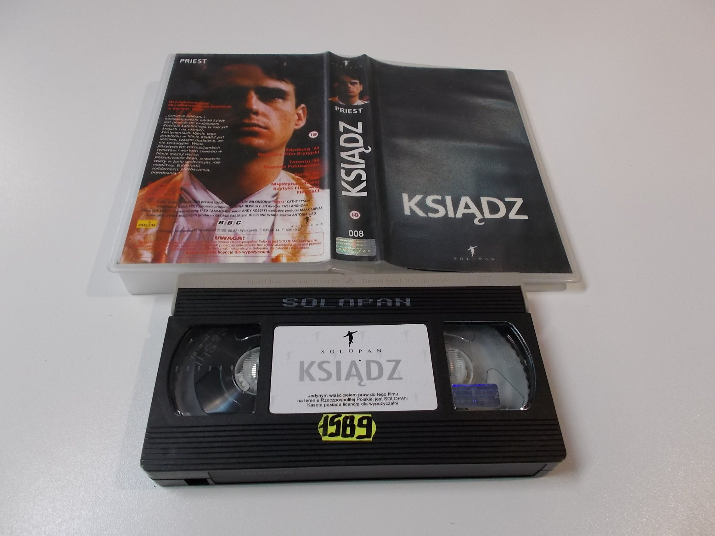 KSIĄDZ - Kaseta Video VHS - Opole 1518