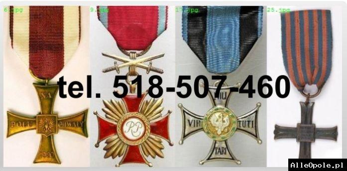 KUPIE stare ordery, medale,odznaki, odznaczenia