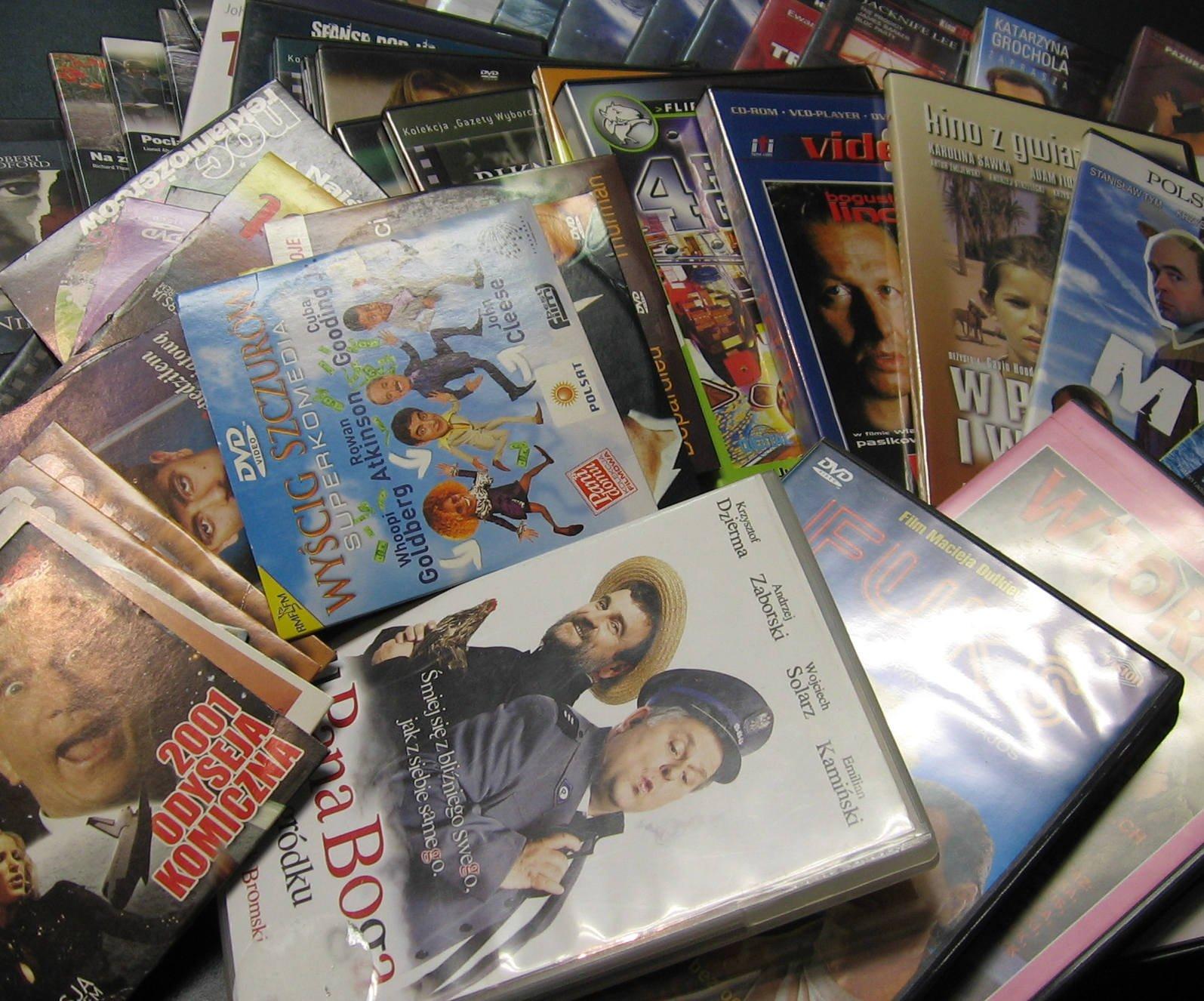 Kupię stare i nowe płyty DVD z filmami - Opole