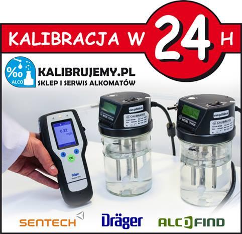 Kalibracja alkomatu - SERWIS alkomatów KALIBRUJEMY.pl