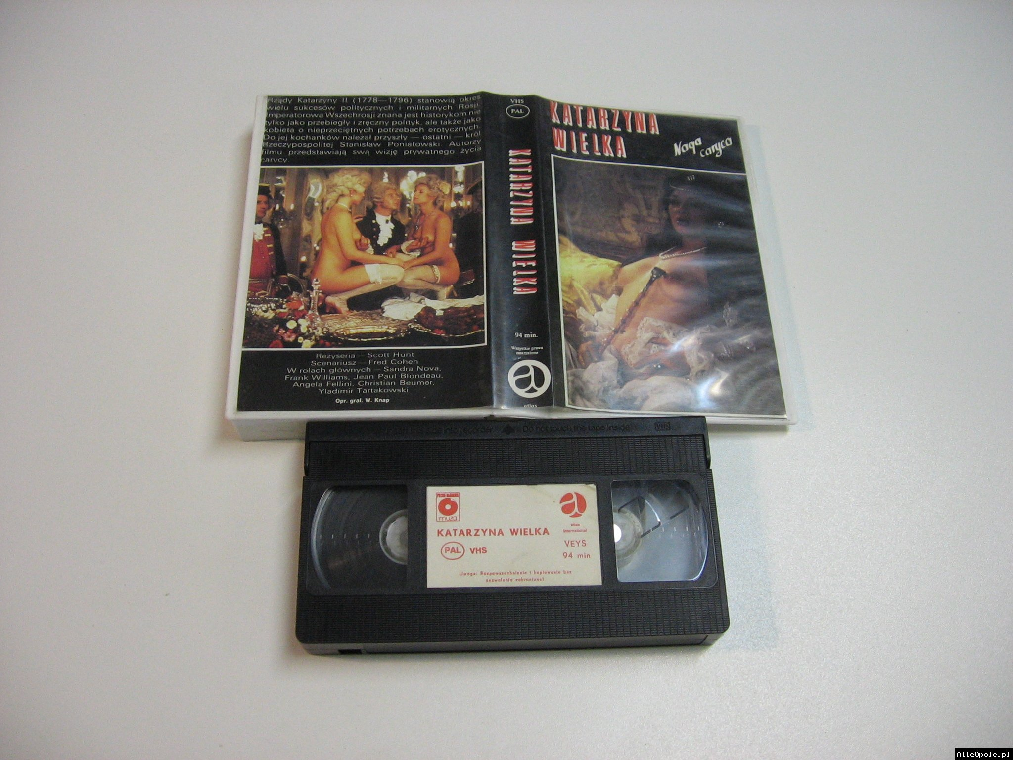 Katarzyna Wielka - Naga Caryca - VHS Kaseta Video - Opole 1835
