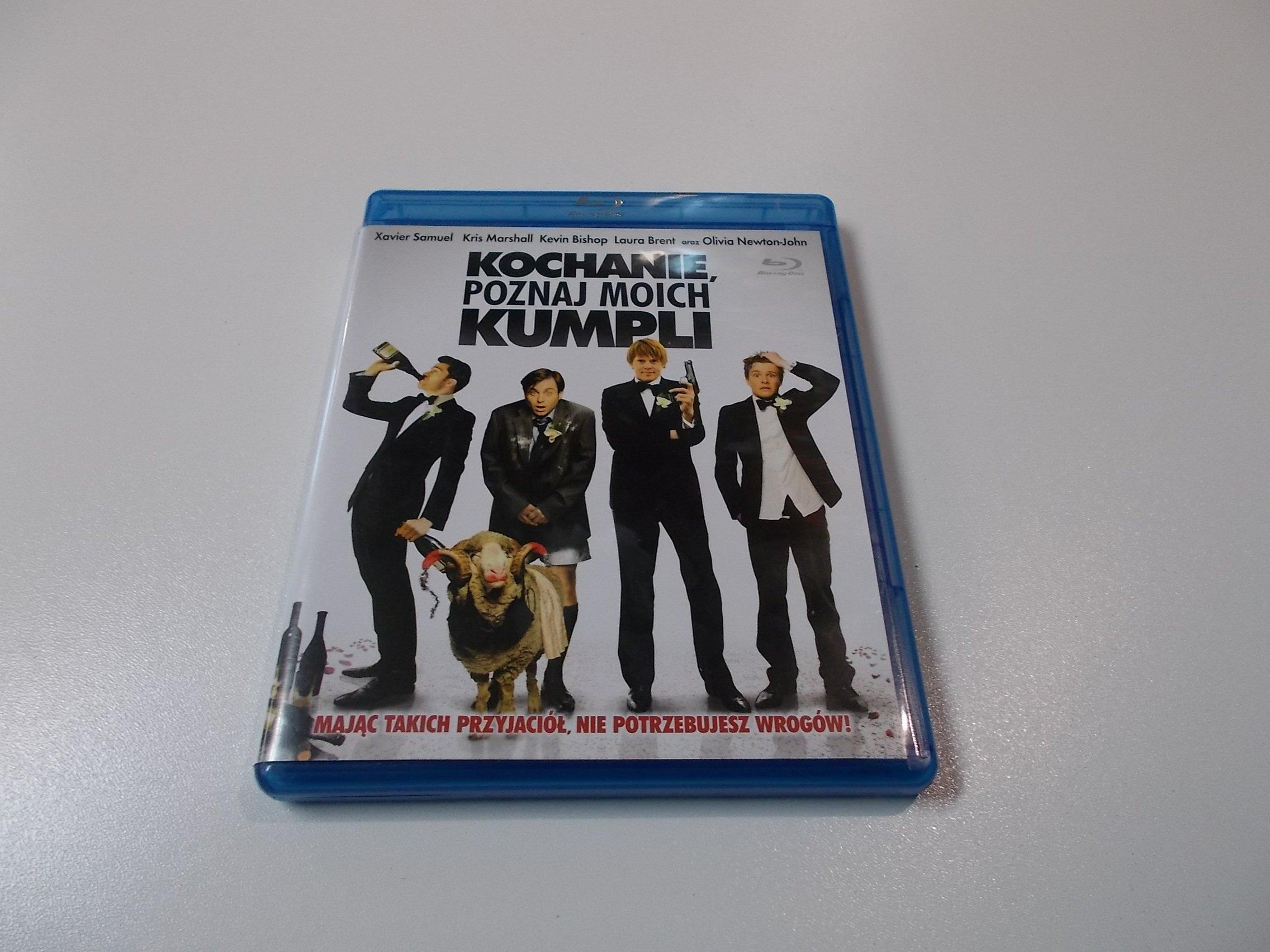 Kochanie poznaj moich kumpli - Płyta Blu-ray - Opole