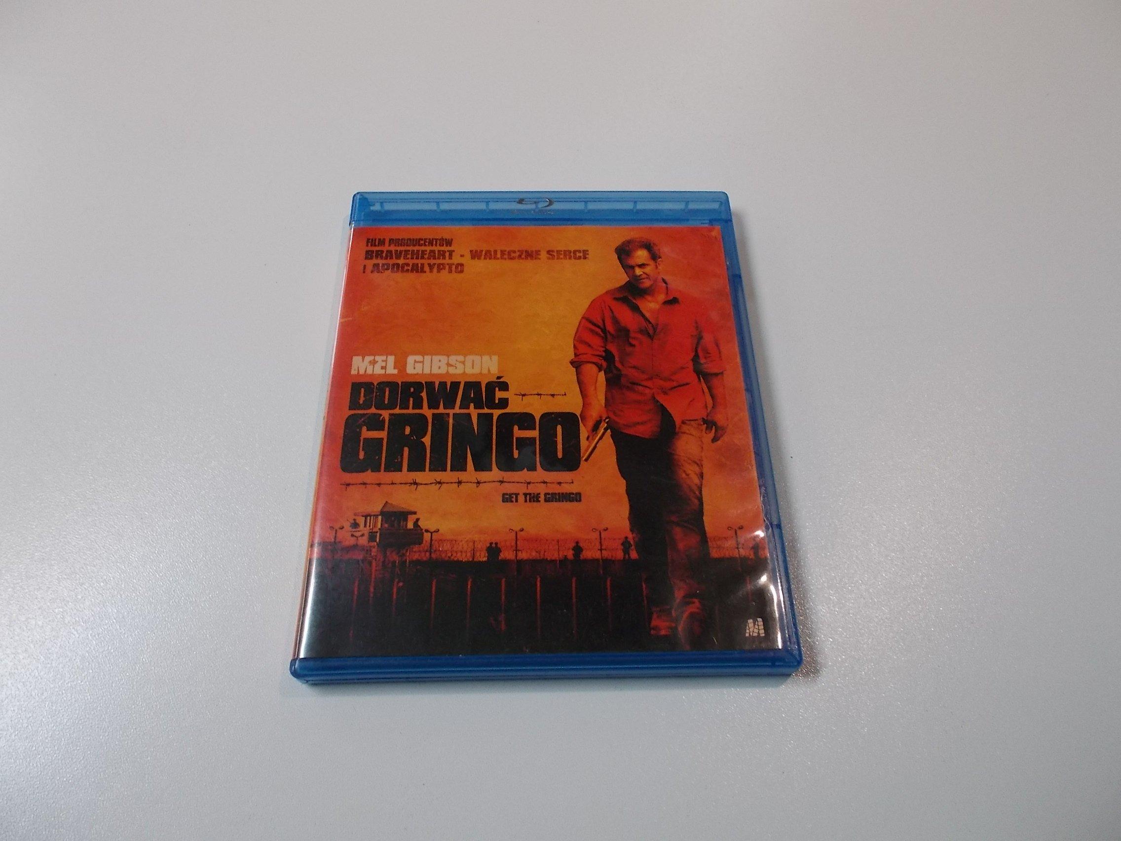 Dorwać Gringo - Mel Gibson - Płyta Blu-ray - Opole