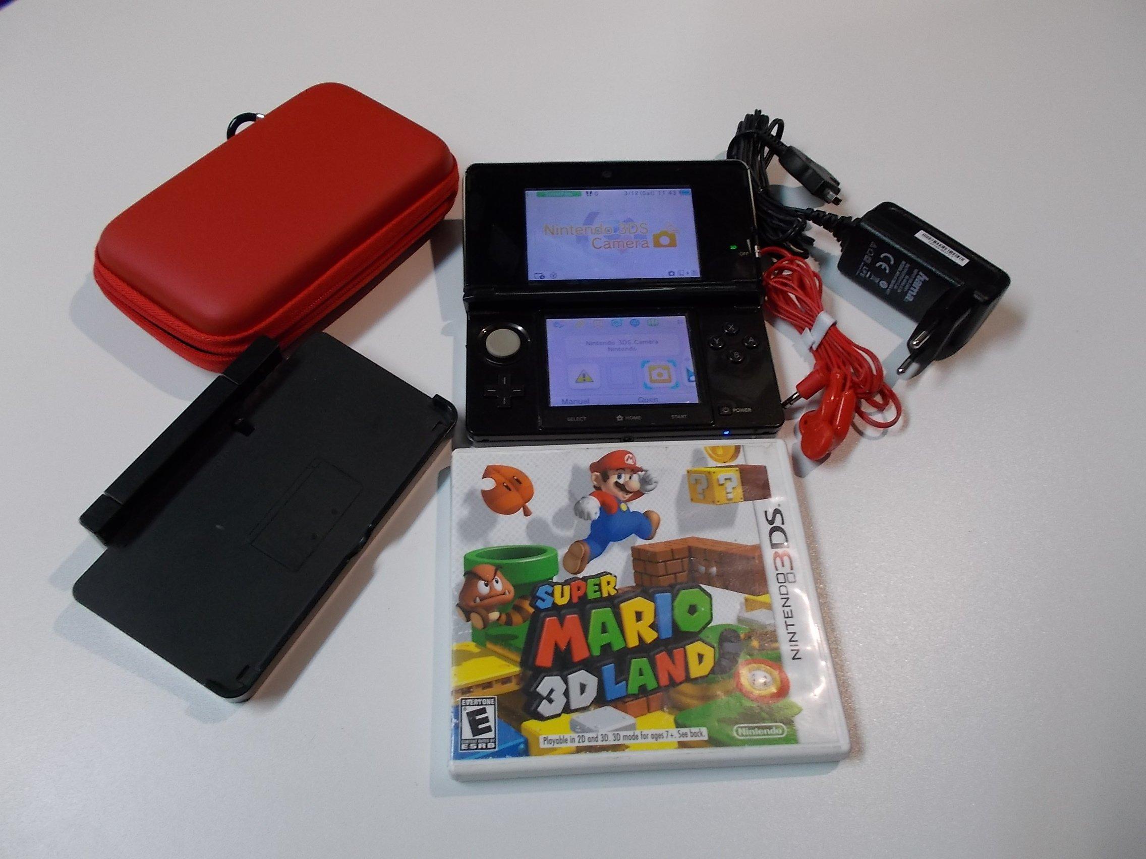 Konsola Nintendo 3DS + Gra Super Mario 3d Land wersja NTSC konsola i gra z USA - Sklep