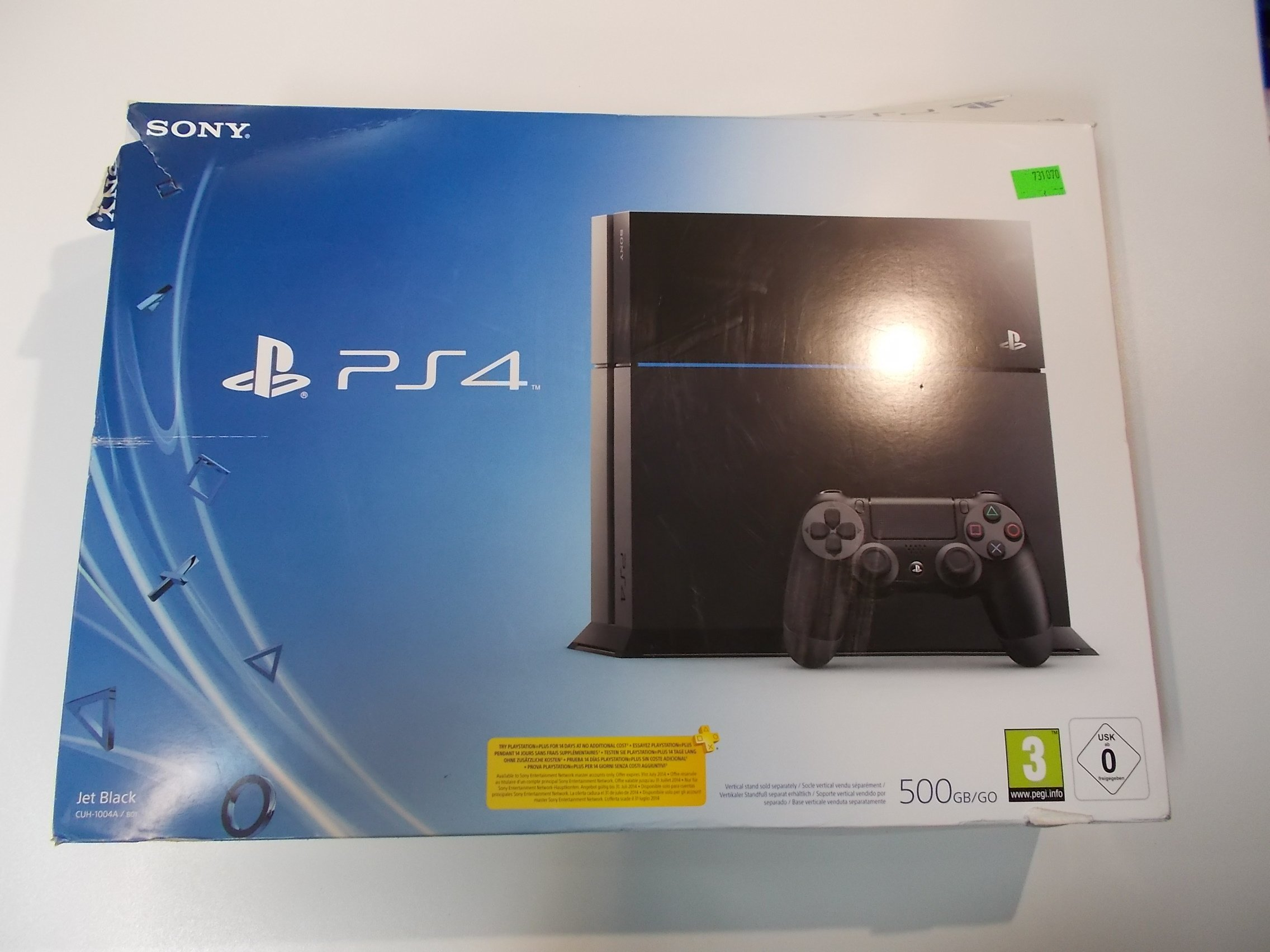 Konsola PS4 500GB Pad Gwarancja Sony PlayStation 4 - Sklep