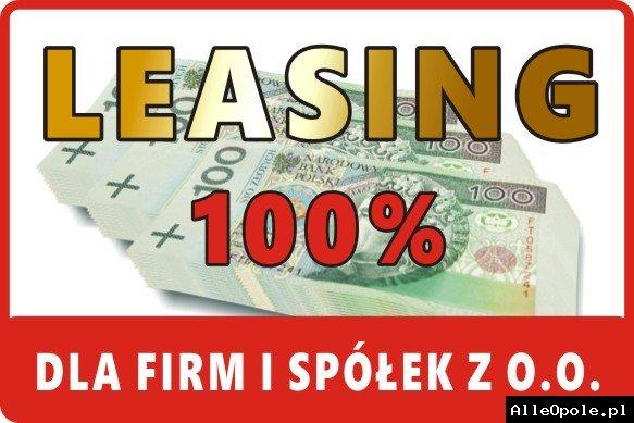 Korzystny LEASING do 100% bez baz