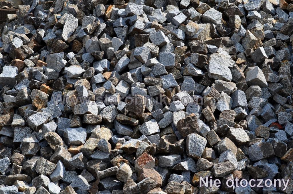 Kostka Nieregularna, Odpad Granitowy surowo łupany, Nie Sort, Łupek