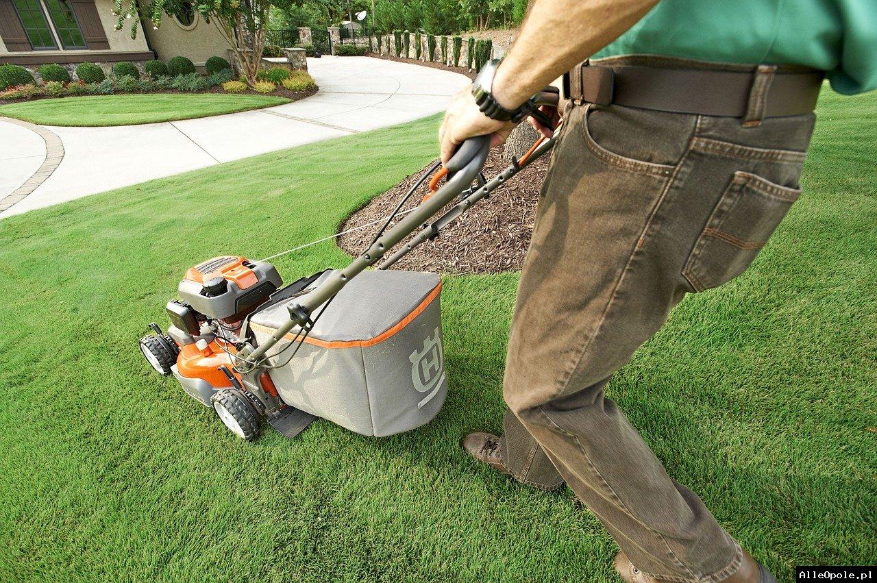 Koszenie trawy trawników Sprzątanie Usługi porządkowe FIRMA