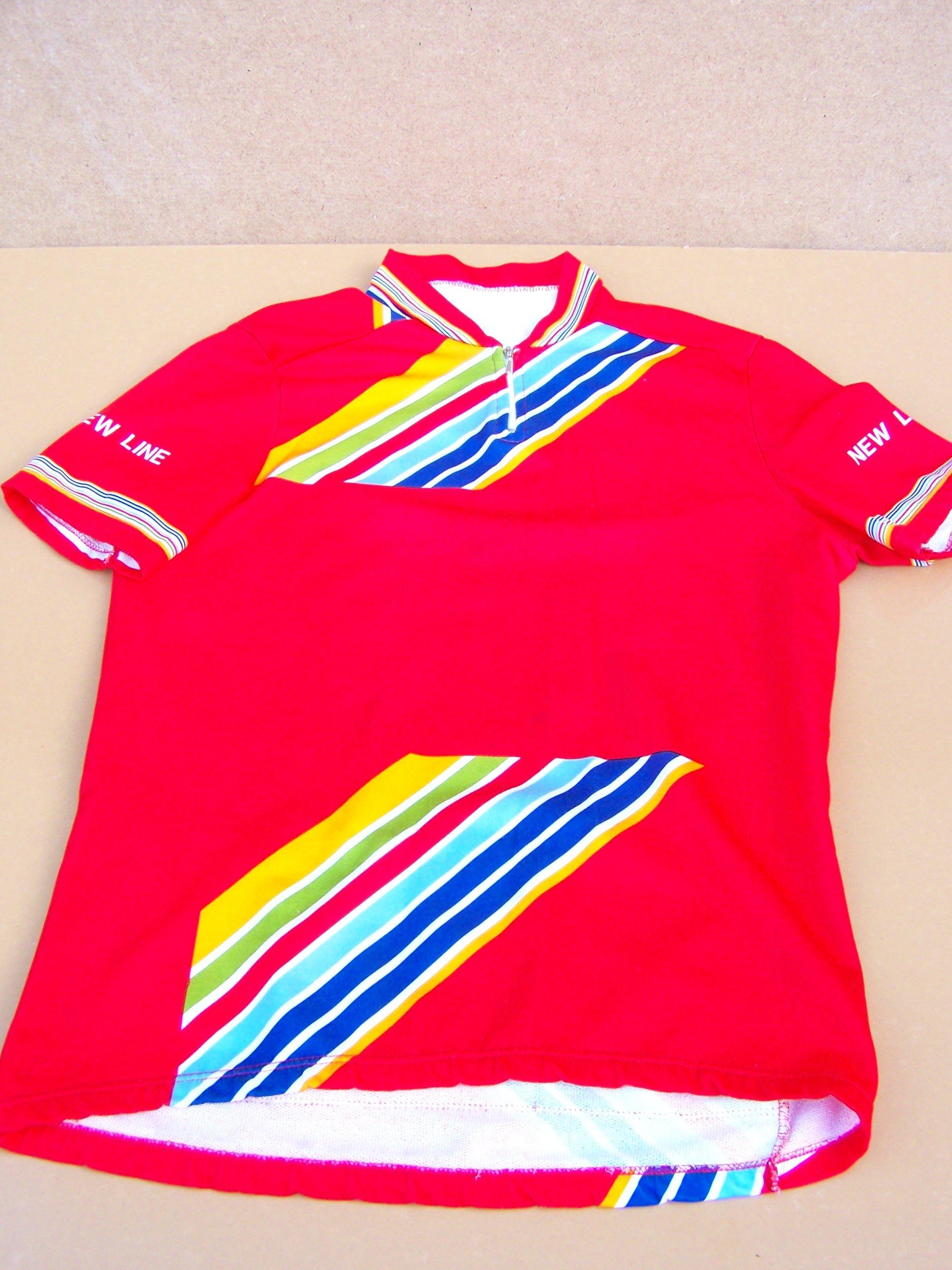 Koszulka kolarska lata 80