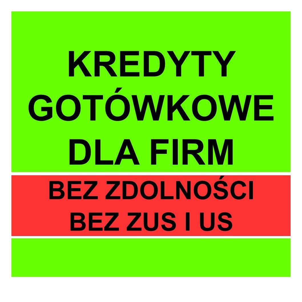 Kredyty firmowe do 250 000zł
