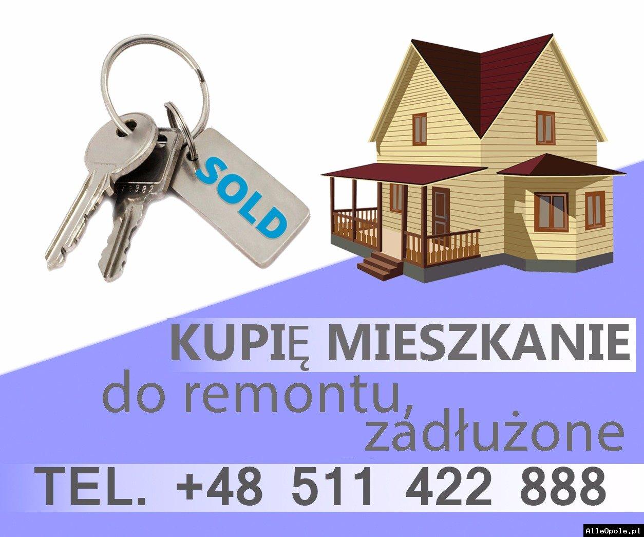 Kupię mieszkanie na udziałach lub zadłużone za GOTÓWKĘ. Szybka decyzja!