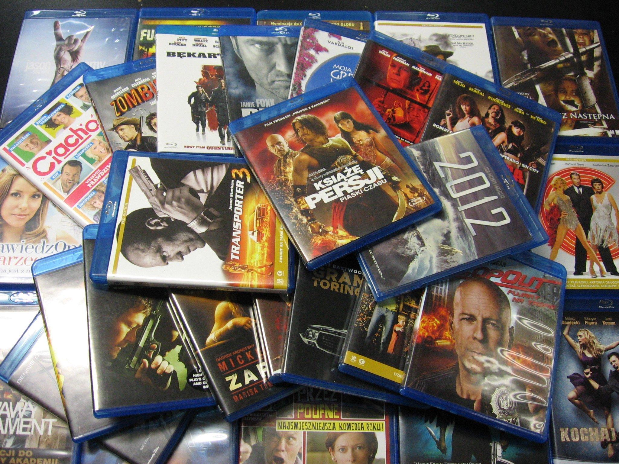 Kupię płyty Blu-rey
