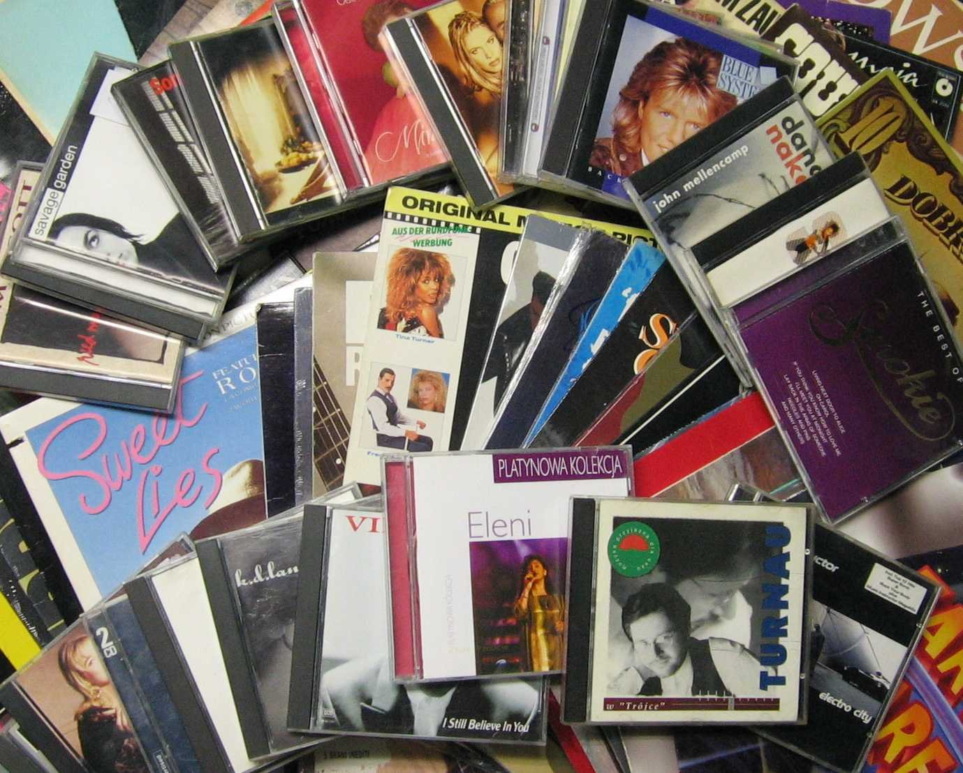 Kupię - płyty LP winylowe, CD kompaktowe, kasety magnetofonowe - Opole