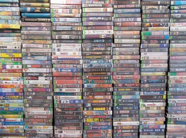 Kupię stare - kasety Video VHS z filmami - Opole