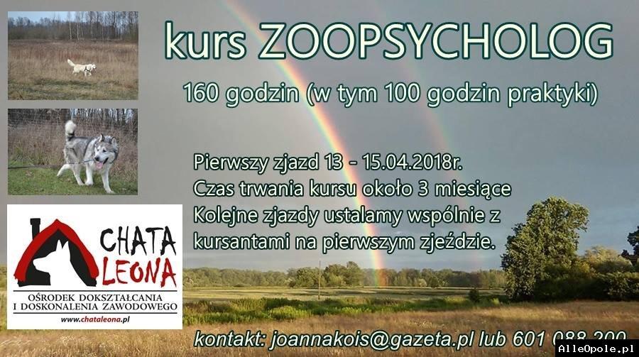 Kurs Zoopsycholog