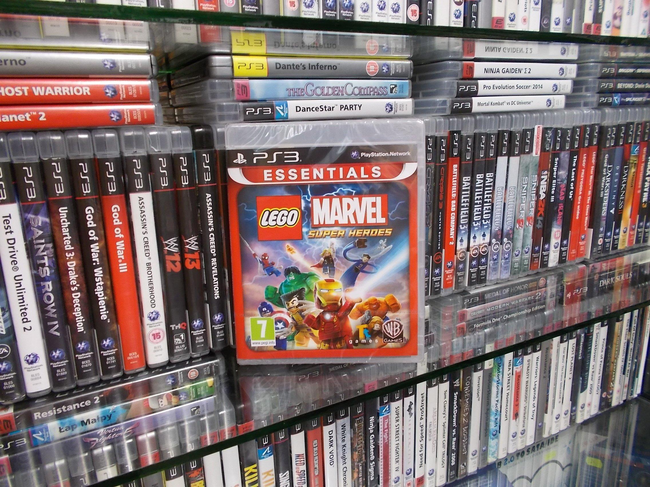 LEGO MARVEL SUPER HEROES PL NOWA - GRA PS3 - Sklep
