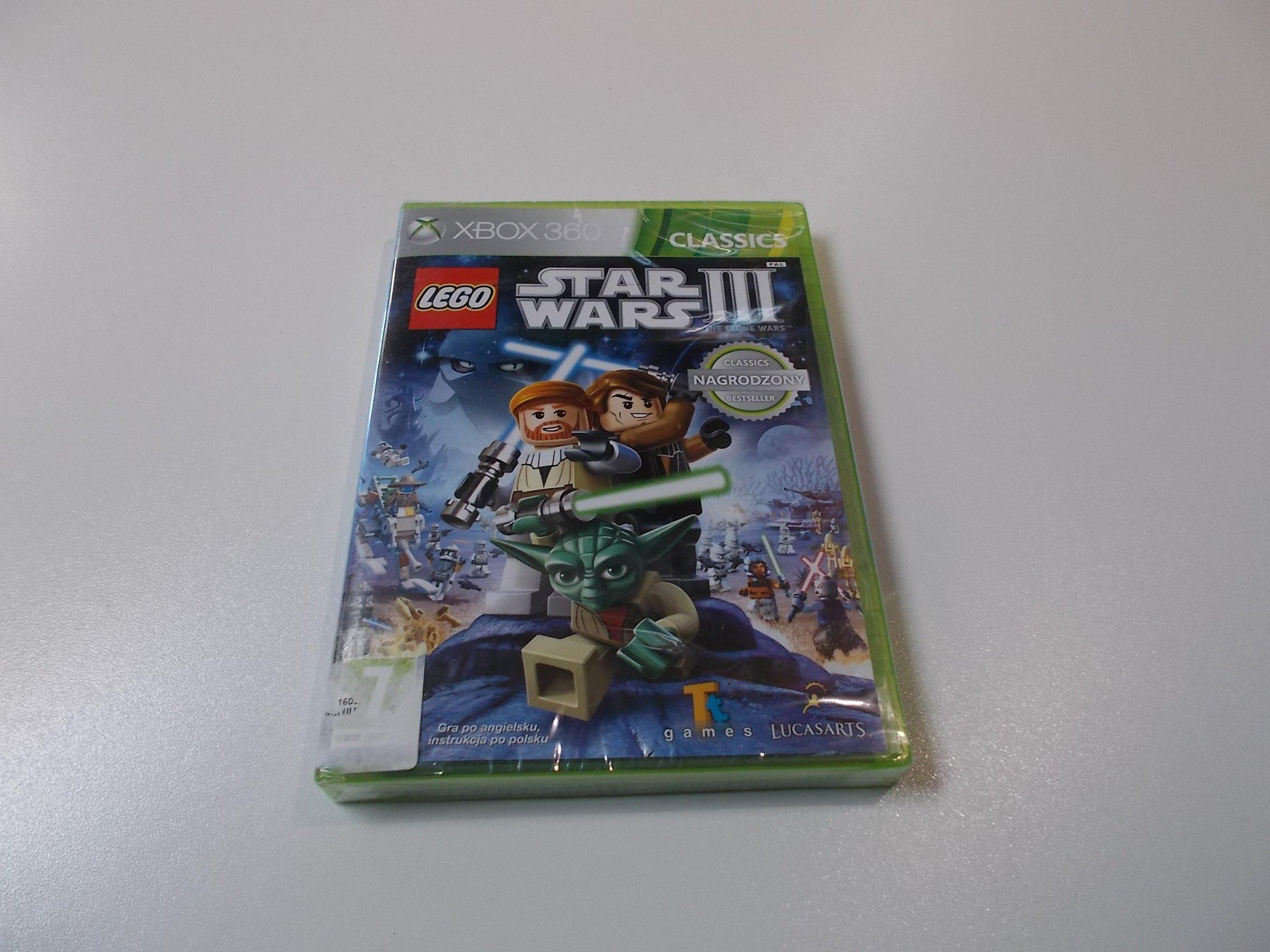 LEGO Star Wars III 3 - GRA Xbox 360 - Opole 0417