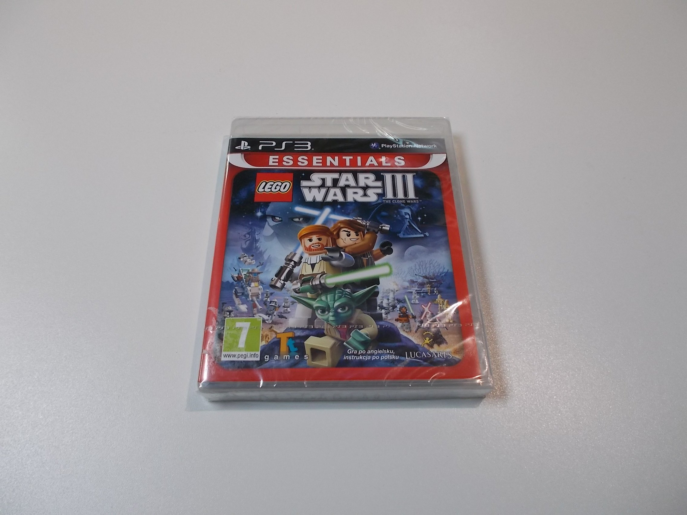 LEGO Star Wars III 3 the clone wars - GRA Ps3 - Sklep