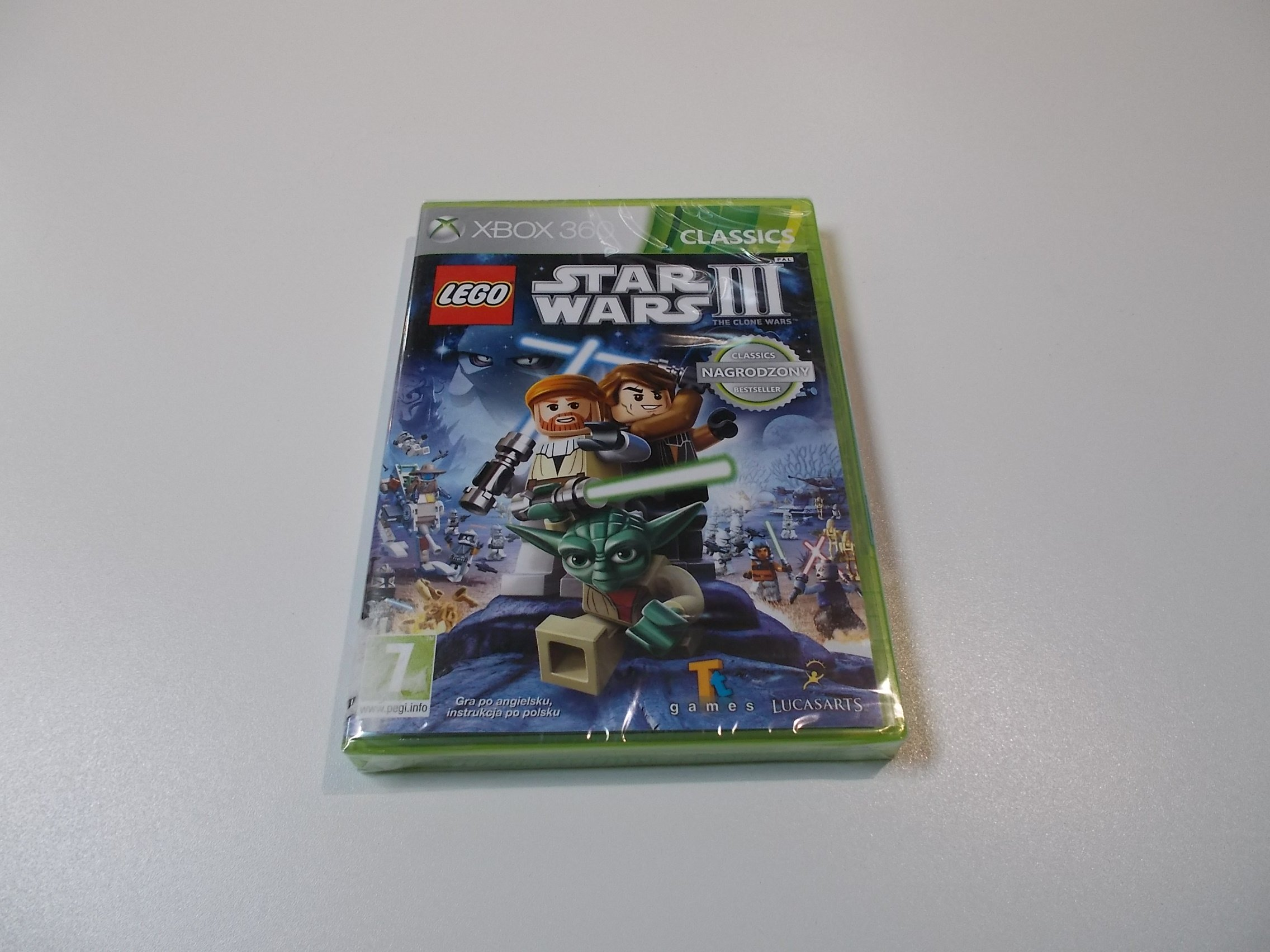 LEGO Star Wars III 3 the clone wars - GRA Xbox 360 - Sklep