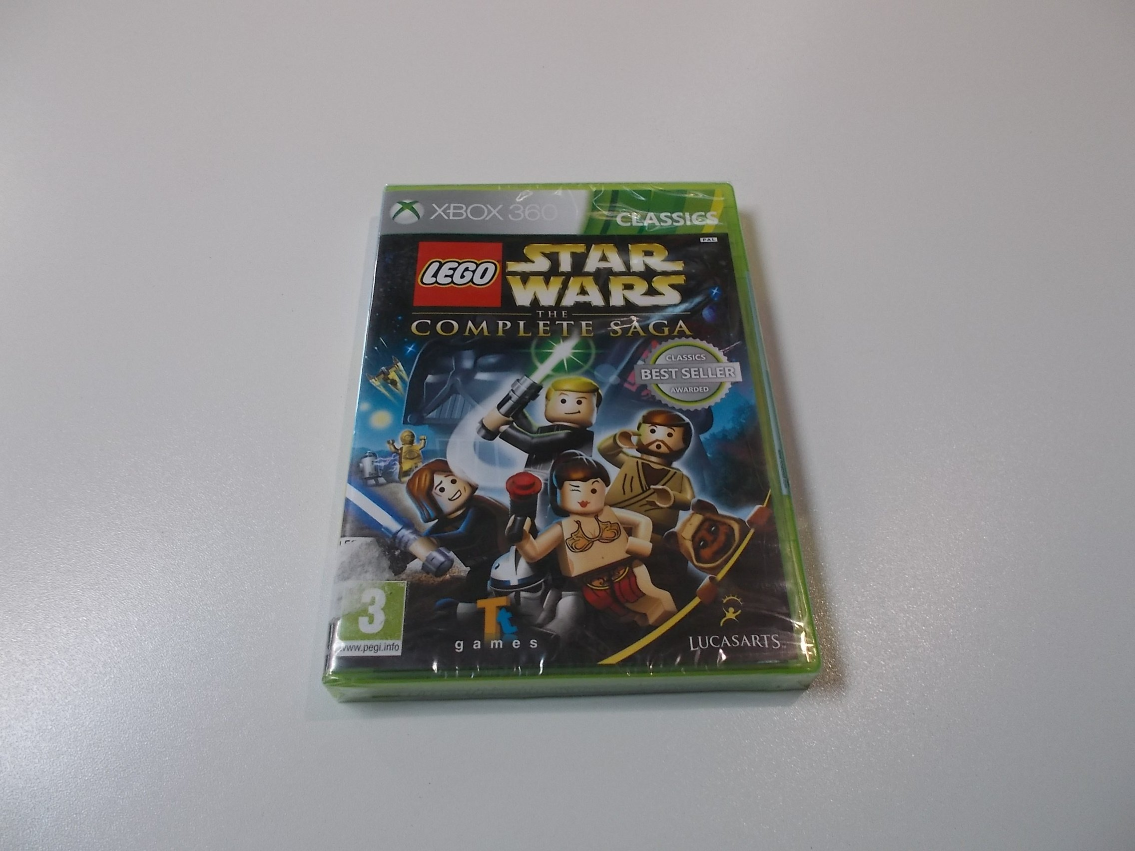 LEGO Star Wars The Complete Saga - GRA Xbox 360 - Opole 0418