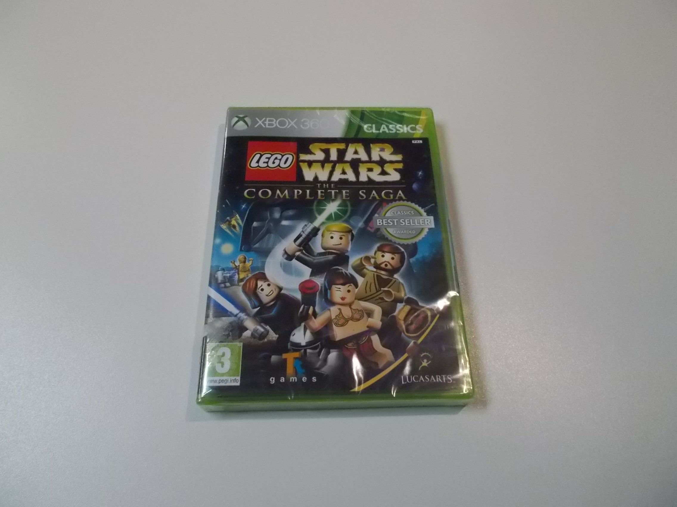 LEGO Star Wars the Complete Saga - GRA Xbox 360 - Sklep