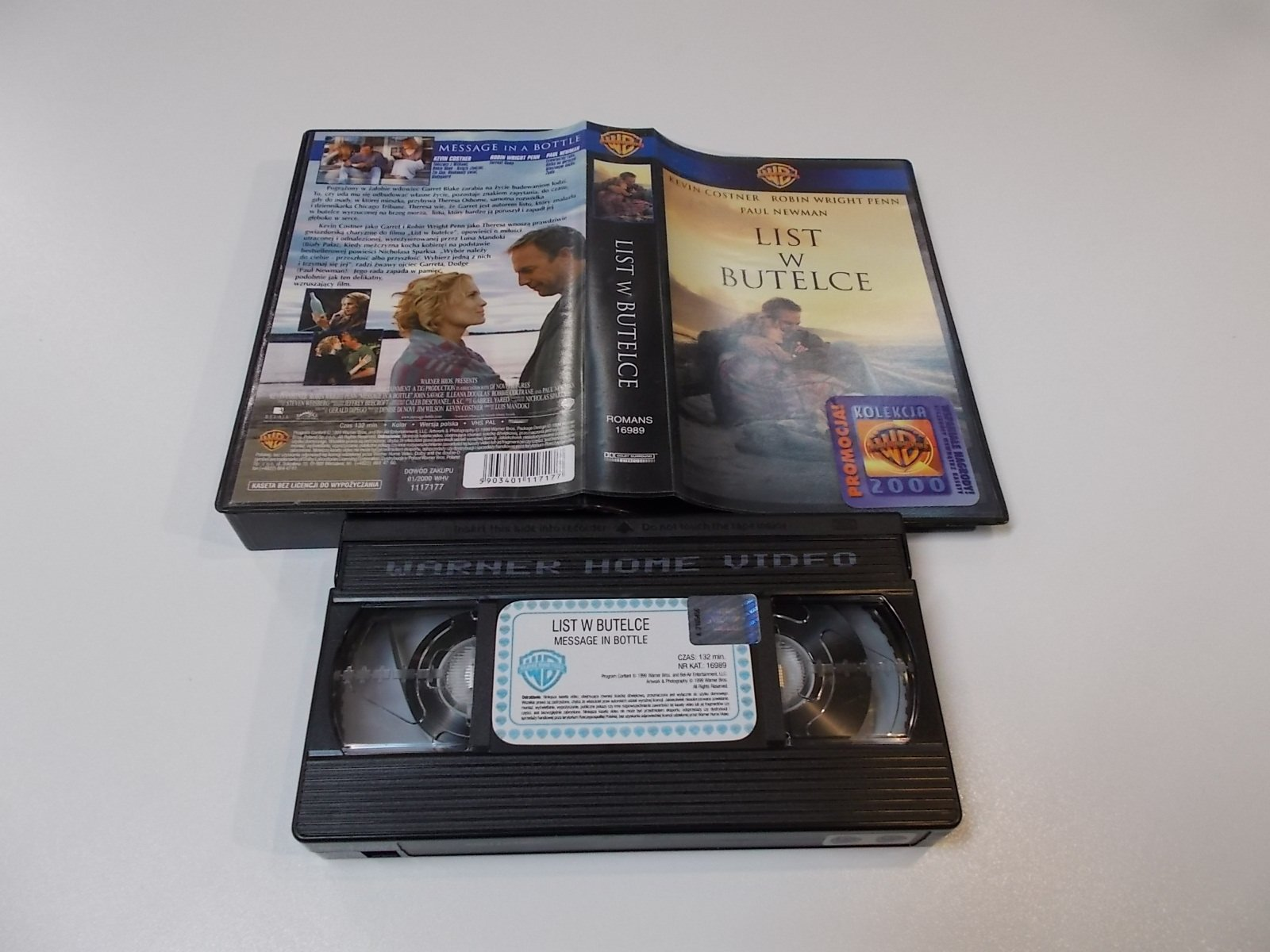 LIST W BUTELCE - VHS Kaseta Video - Opole 1685